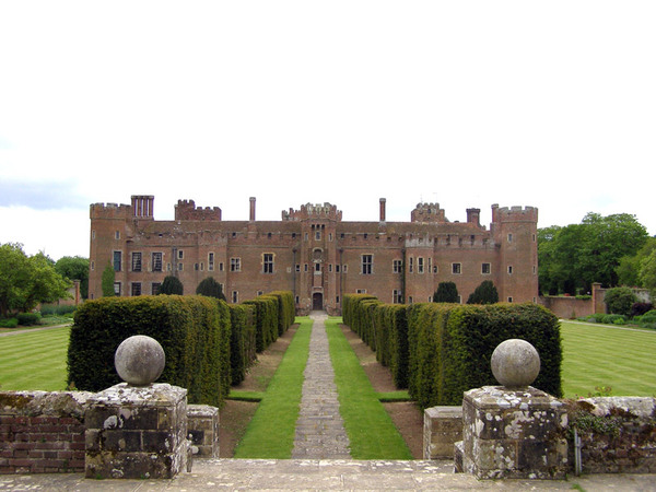 Herstmonceux Castle Garden, East Sussex