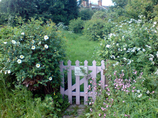 Gate, Centre for Wildlife Gardening