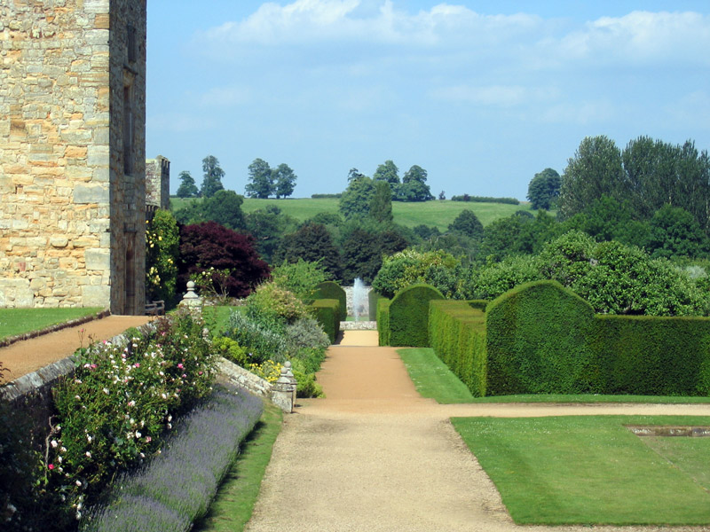 Penshurst Place Garden, June 2008