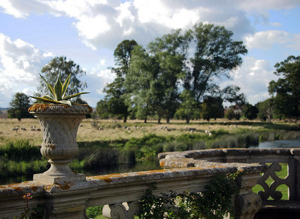 Urn in Charlecote Park, Warwickshire