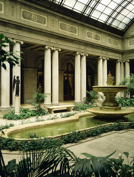 Garden Court, The Frick Collections