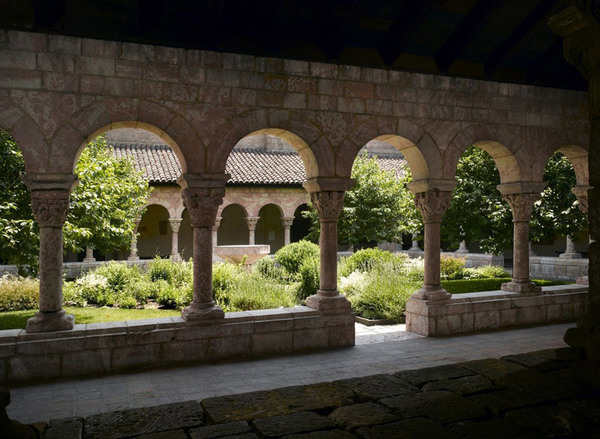 View of Cuxa Cloister