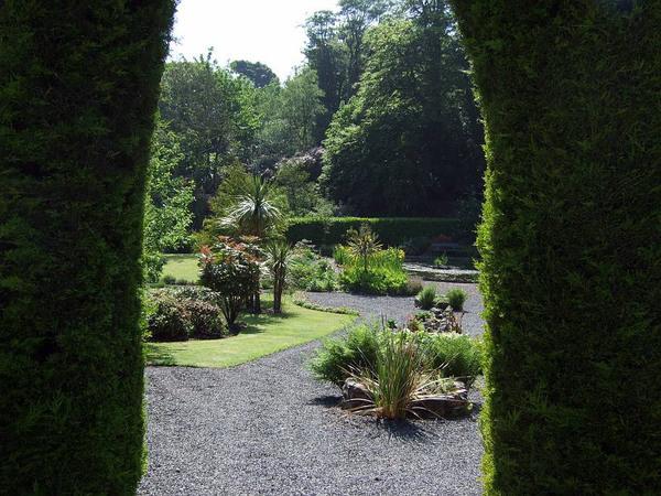 Dunskey Gardens, Scotland