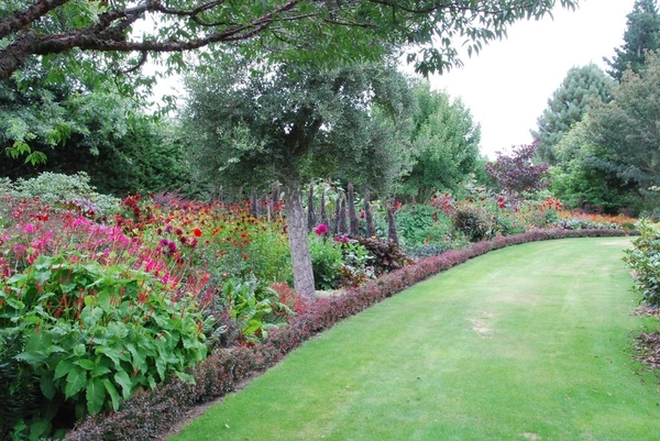 Red Border, Trott's Garden