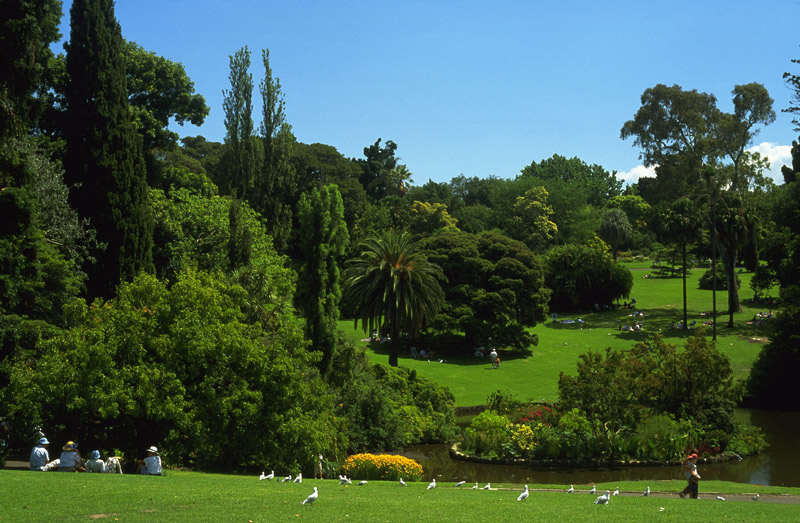 how to help the gardens of melbourne