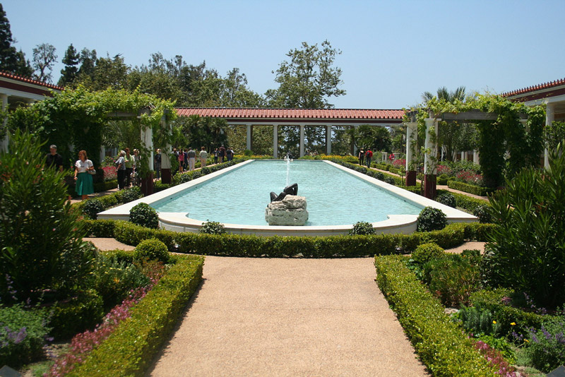 Getty Villa Garden, Malibu