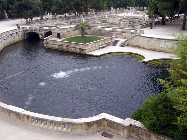 Jardin de la Fontaine, France