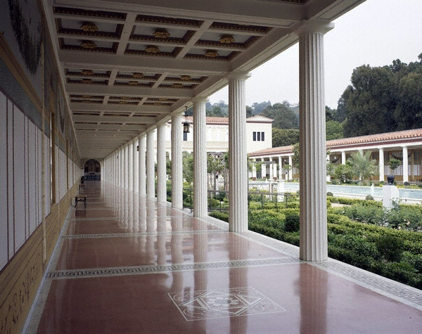 Peristyle, Getty Villa Malibu