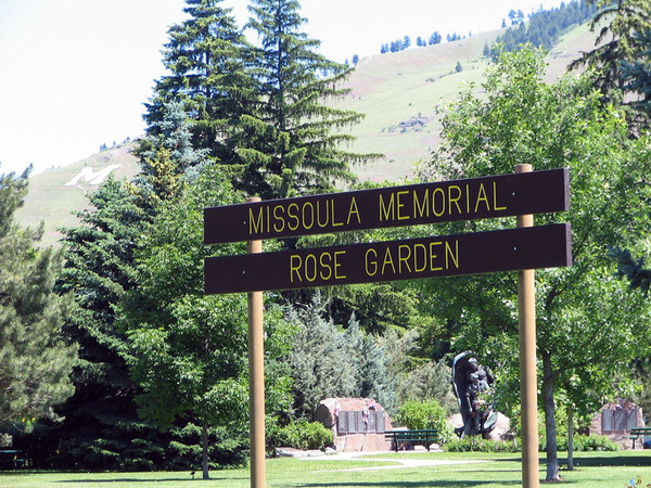 Memorial Rose Garden Missoula