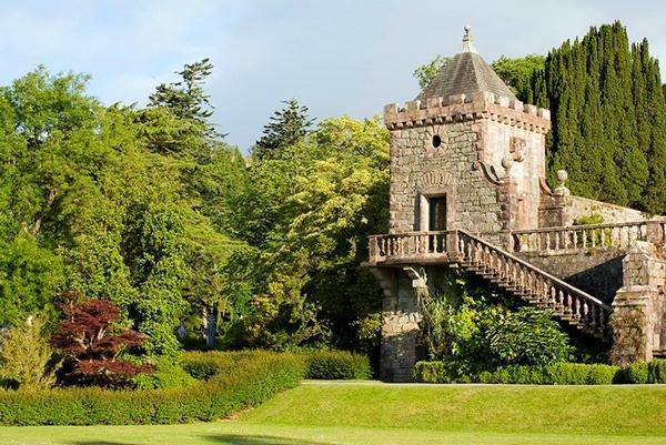 Torosay Castle Garden, Mull