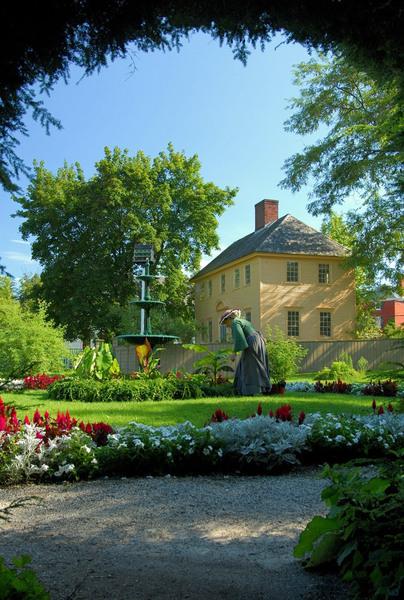 Fountain, Goodwin Garden
