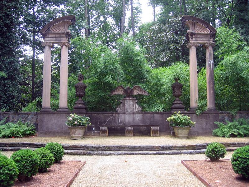Boxwood Garden, Swan House