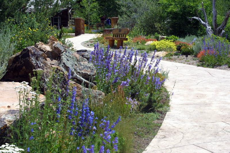Wonderful Rock Garden, Betty Ford Alpine Gardens