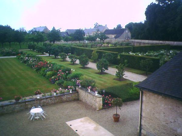 Chateau d'Audrieu Garden