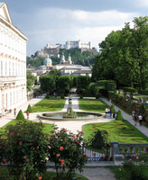 Medium mirabell garden salzburg original