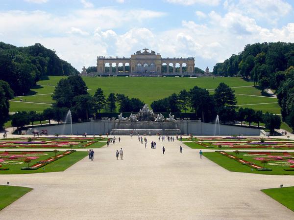 Schonbrunn Palace Garden, Vienna
