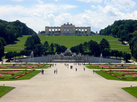 Medium schonbrunn palace garden original