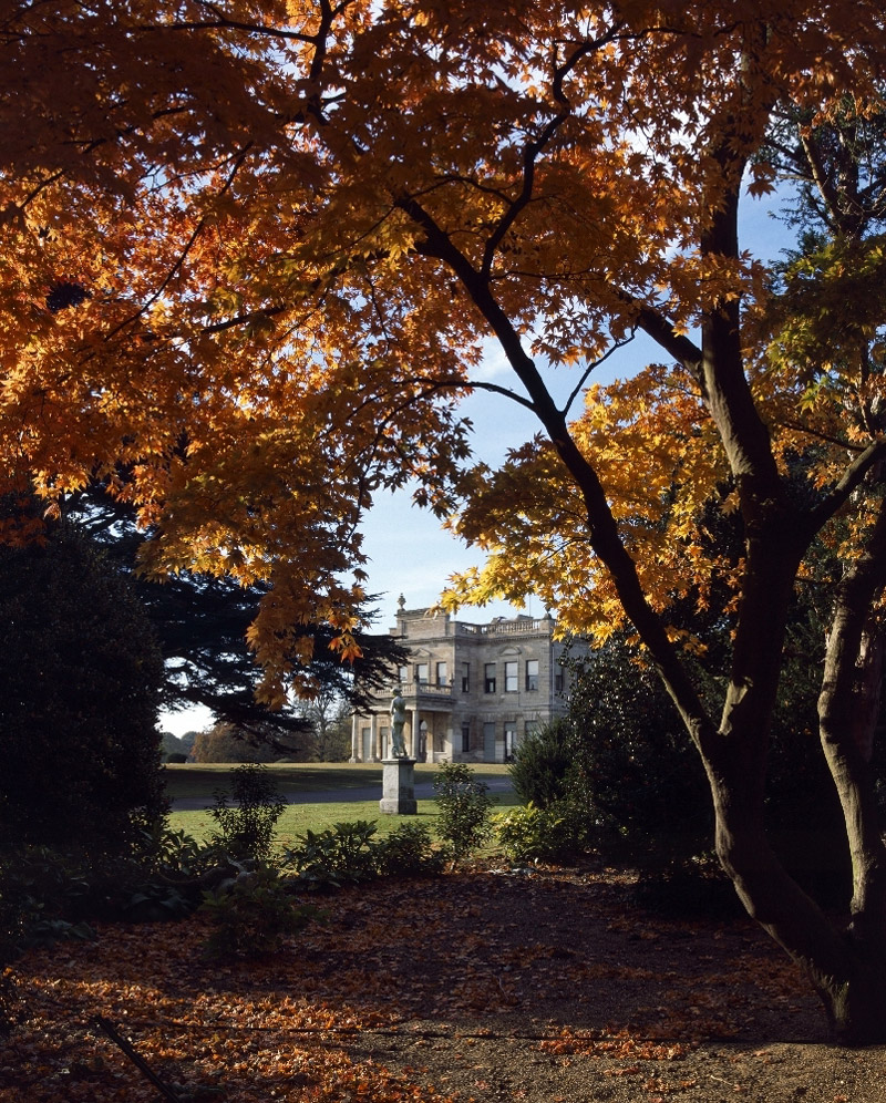 Brodsworth Hall, Autumn