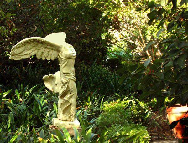 Statue, Rancho Los Alamitos Garden