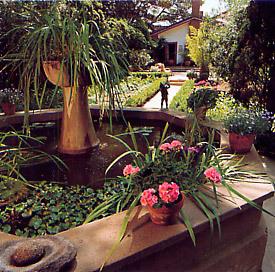 Fountain, Rancho Los Alamitos Garden