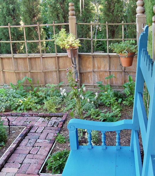 Bench, Rancho Los Alamitos Garden