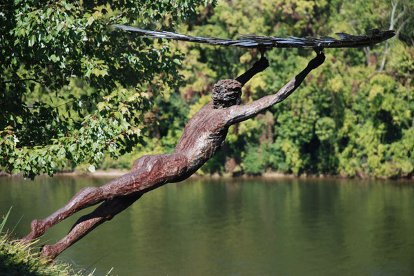 Icarus, Tennesse River Sculpture Garden