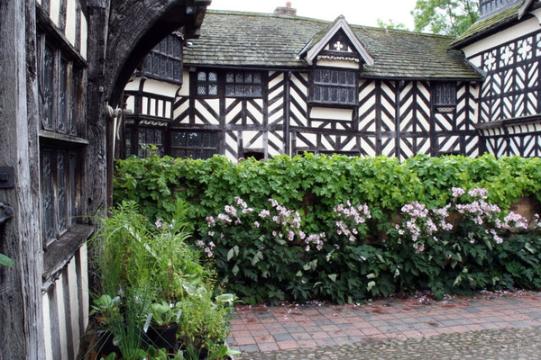 Little Moreton Hall Garden, Cheshire