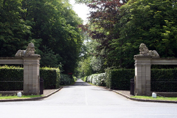 Drive, Paxton House