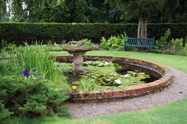 Pond, Paxton House Garden