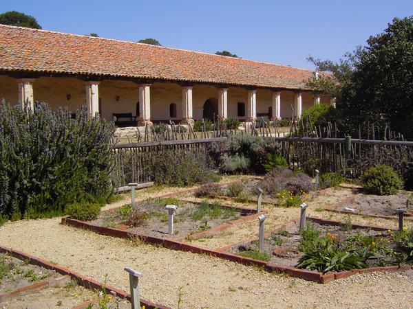 La Purisima Mission Garden