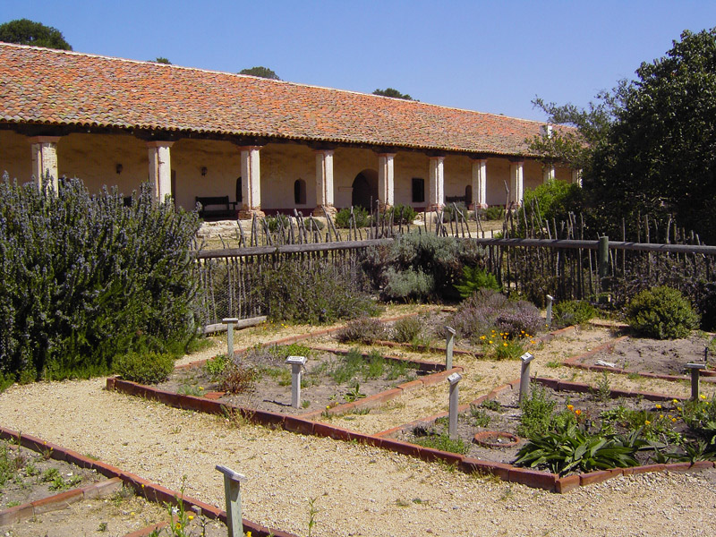 La Purisima Mission Garden