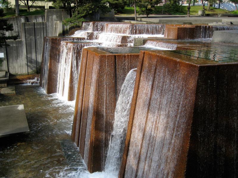 Ira keller fountain for Garden fountains portland oregon