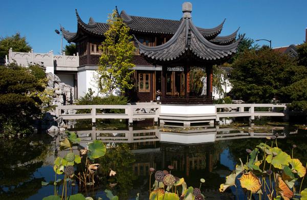 Tea House, Portland Classical Chinese Garden