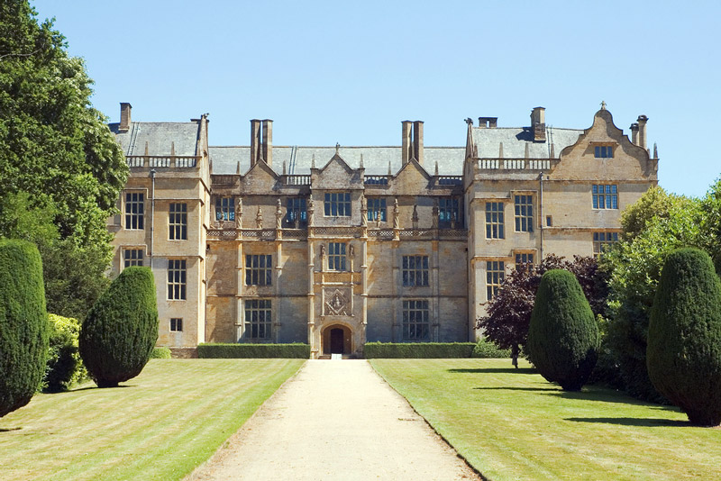 Montacute House Garden, Somerset