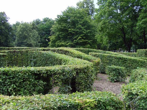 Maze, Luitpoldpark