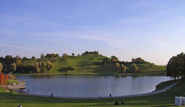 Lake, Olympiapark