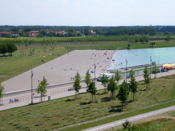 Riemer Park, Messestadt Riem
