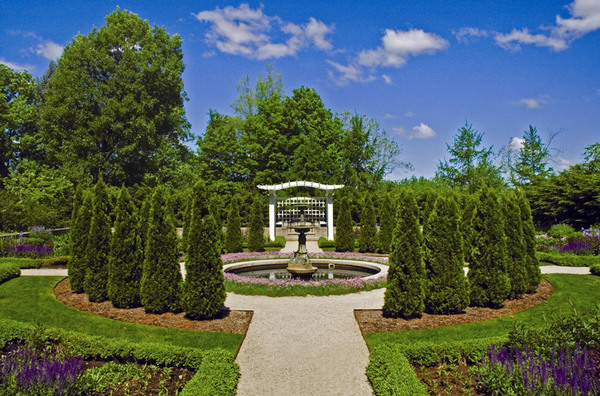 Lilly House Garden, Indianapolis Museum of Art