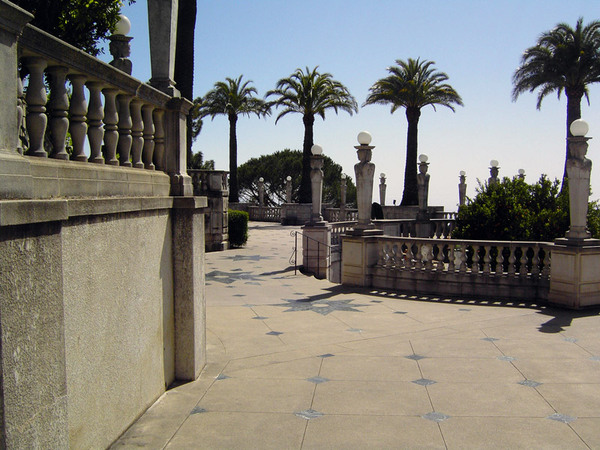 Hearst Castle Gardens, California
