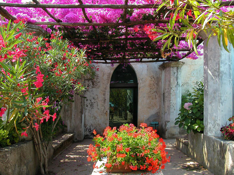 Villa Rufolo Ravello Sa Italy