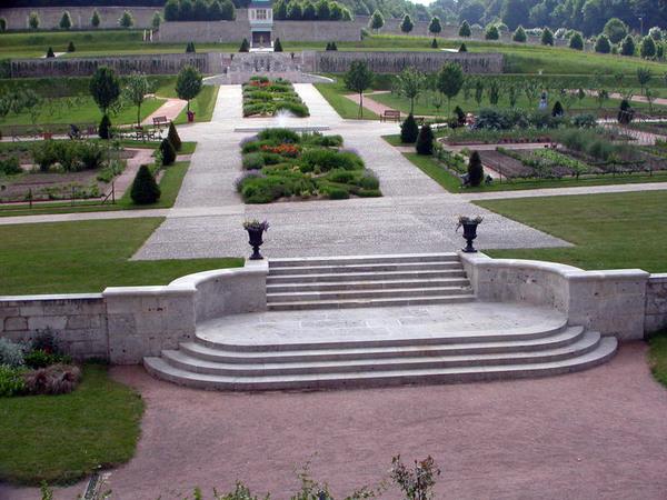 St Martin de Boscherville Abbey Gardens