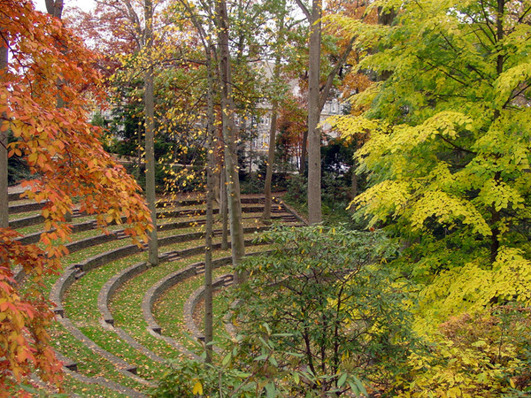 Amphitheater in Autumn