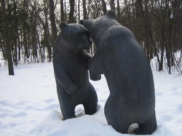Leo Mol Sculpture Garden, Winnipeg