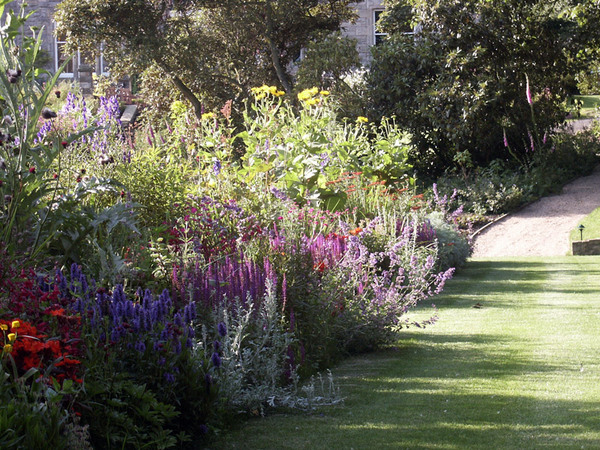 Herbaceous Border, Arnot Tower Gardens