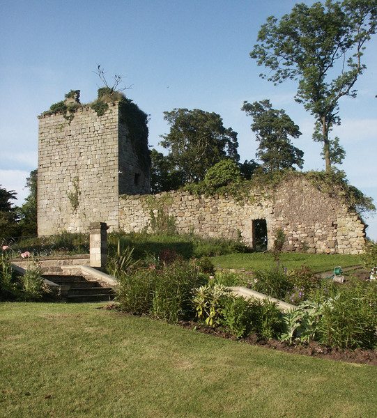Castle, Arnot Tower Gardens