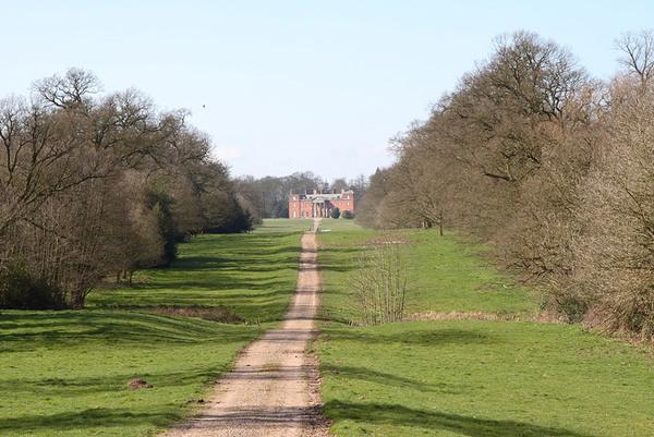 Chillington Hall Garden, Staffordshire
