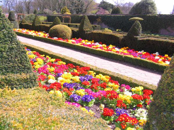 Walled Garden, Sewerby Hall Gardens