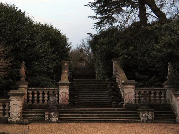 Harlaxton Gardens, Lincolnshire