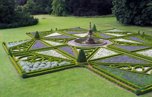 Knot Garden, Sledmere House Gardens