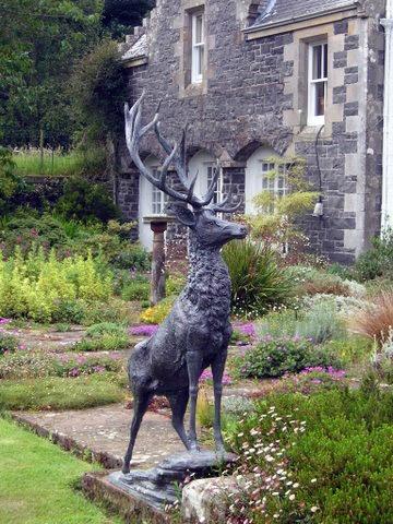 Sculpture, Ardwell Gardens